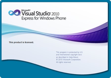 [図] Visual Studio 2010 Express の起動画面