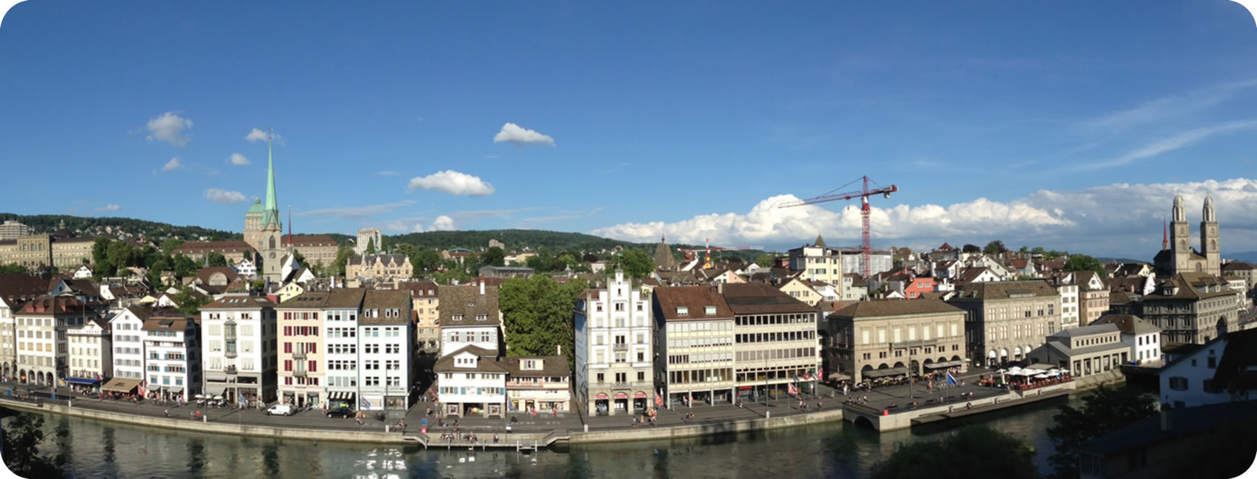 [Photo] Panorama view on Lindenhof hill
