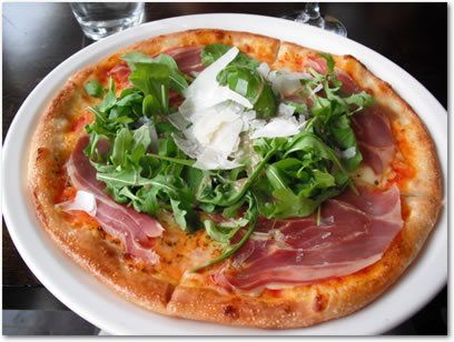 [Photo] Pizza Prosciutto