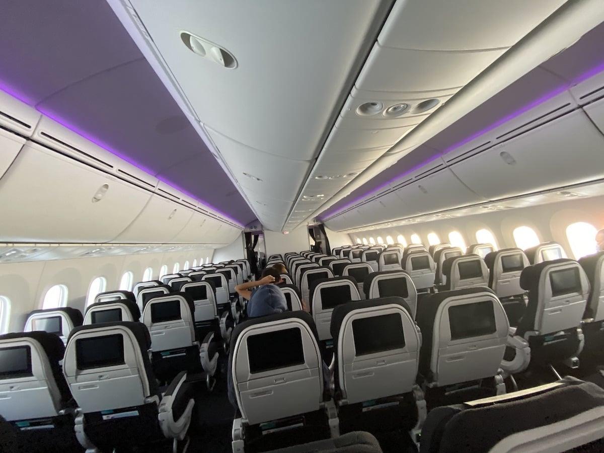 [写真]とある日のニュージーランド航空成田行き便